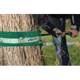 GIBBON Fun Line X13 - Slackline - Tree Pro Set jaune/bleu